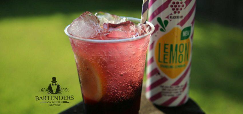 Blackberry Sparkling Lemonade